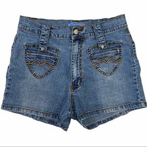 Apollo Jeans High Waisted VTG Y2K Shorts 13/14
